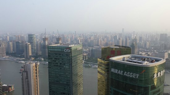 The Ritz-Carlton Shanghai, Pudong: View outside