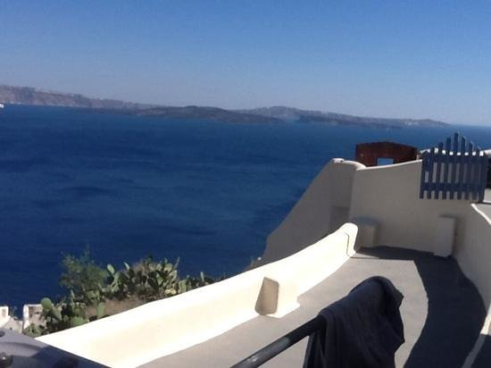 Canaves Oia Hotel: view from villa