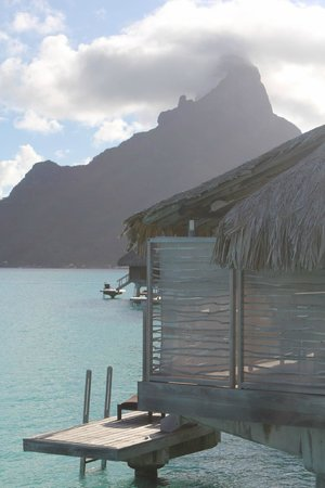 InterContinental Bora Bora Resort & Thalasso Spa: View from the deck