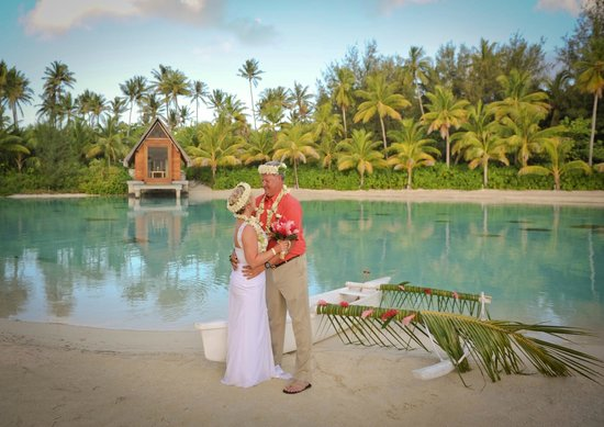 InterContinental Bora Bora Resort & Thalasso Spa : After our ceremony