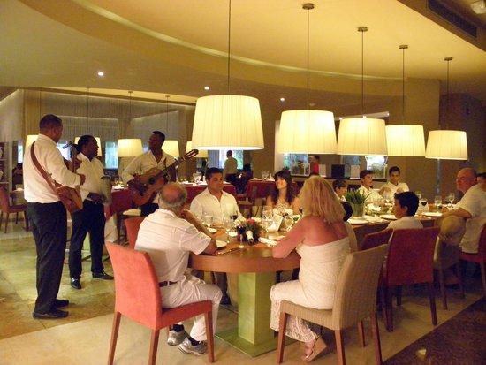 Now Larimar Punta Cana : great restaurant