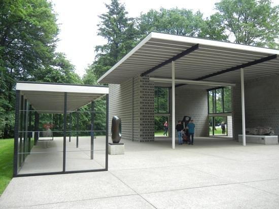 Kröller-Müller-Museum: paviljoen Mies van der Rohe