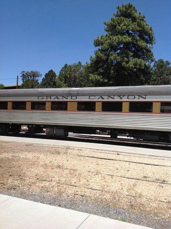 Grand Canyon Railway Train car!!
