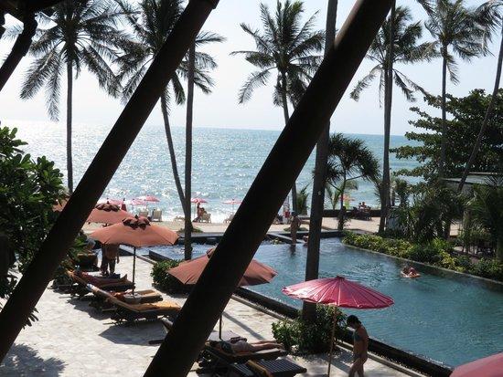 Weekender Resort & Hotel: Вид из номера Делюкс