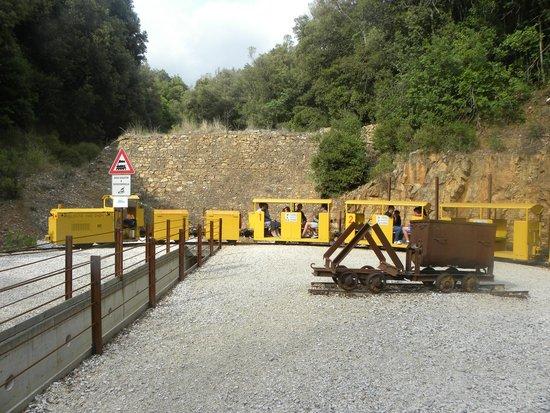 Il Parco Archeominerario di San Silvestro : il trenino