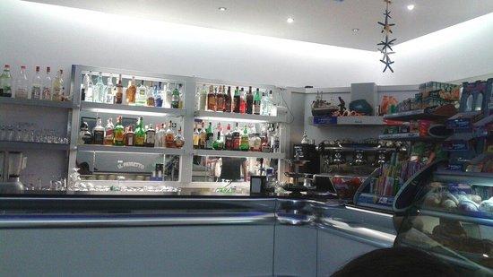 Acciaroli, إيطاليا: Il muretto bar acciaroli. ...