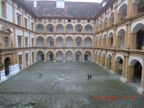 Schloss Eggenberg: the inner hall