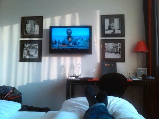 angelo Hotel Munich Leuchtenbergring : Zimmer nach Einzug
