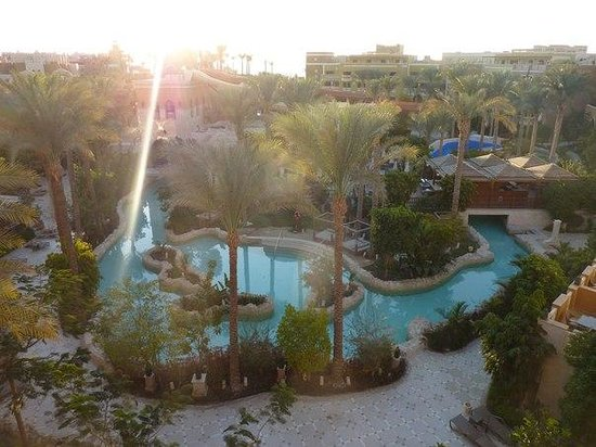 Sunwing Waterworld Makadi Hotel: Территория отеля