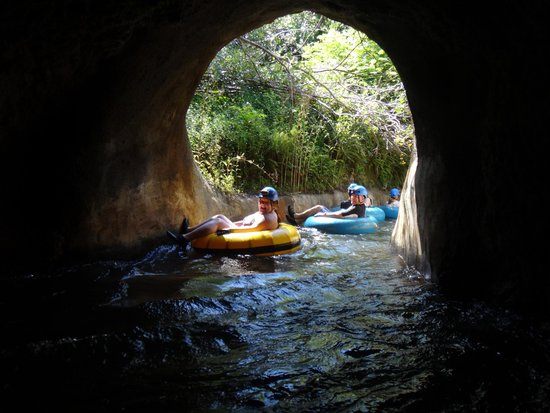 Kauai Backcountry Adventures : End of the tunnel, for sure.
