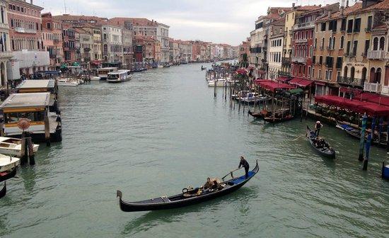 Gran Canal: Grand Canale visto da Ponte do Rialto