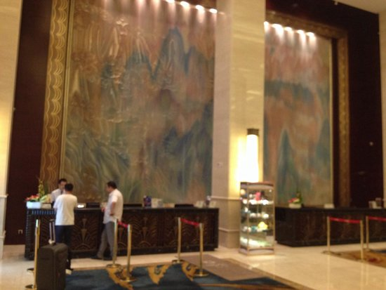 Sheraton Changzhou Wujin Hotel: Registration area of Sheraton hotel in Changzhou