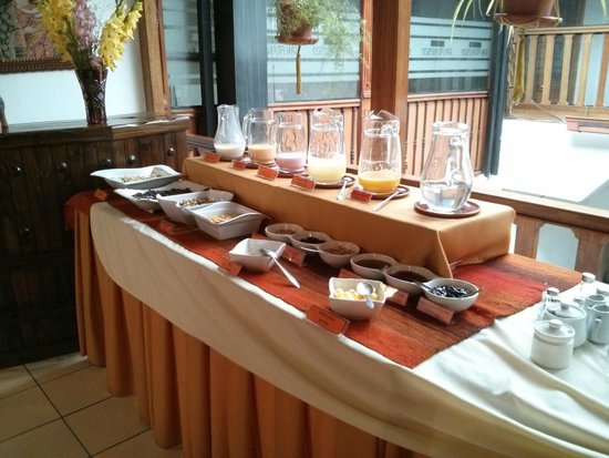 Amerinka Boutique Hotel: Complimentary Breakfast