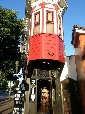 The Flatiron: Flatiron entrance