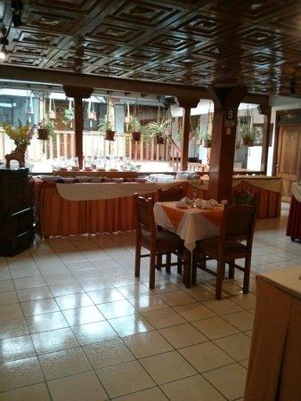Amerinka Boutique Hotel: Breakfast spread