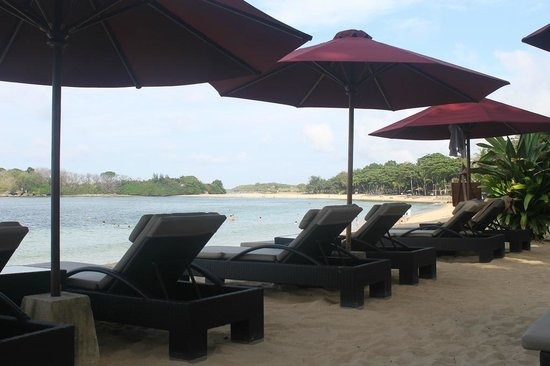 The Laguna, a Luxury Collection Resort & Spa: The Private Beach Area