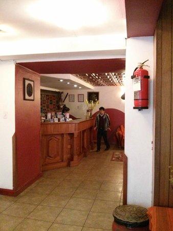 Amerinka Boutique Hotel: Reception Desk for check in