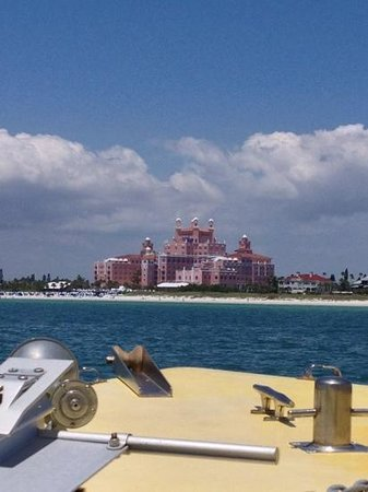 The Don CeSar : stunning sight from a distance !