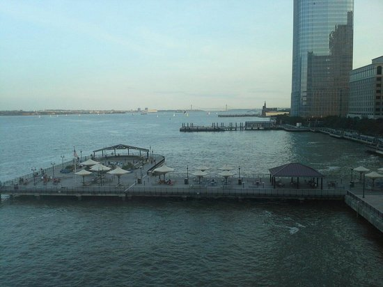 Hyatt Regency Jersey City: Another view from our room