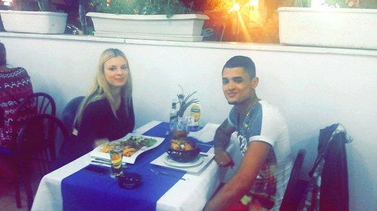 Micri Acropoli Restaurant & Bar : Our first night!!!