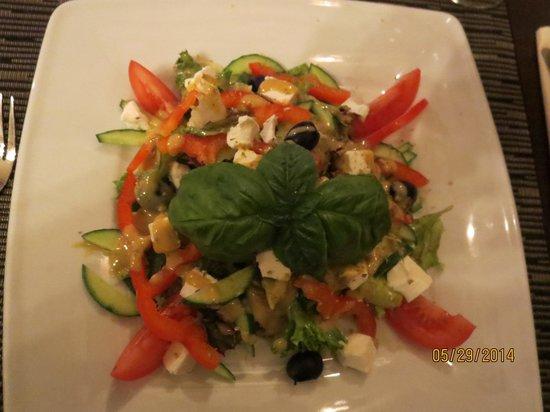 La Bicicletta Restaurant & Cafe: salat