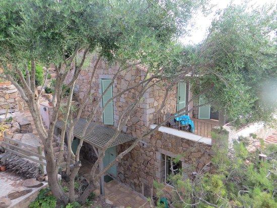 Littariccia : notre terrasse