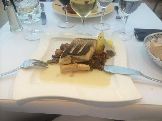 Brasserie Le Sud : The fish dish
