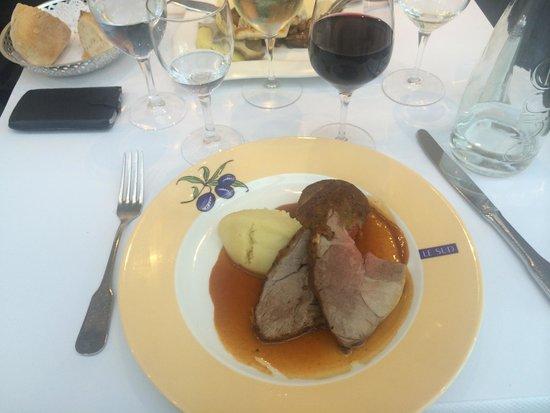 Brasserie Le Sud : The lamb dish