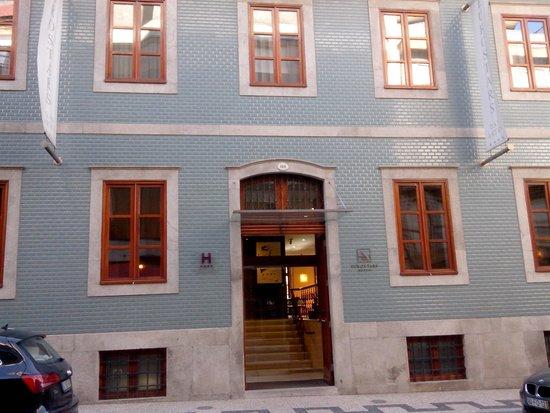 Eurostars Das Artes Hotel : façade de l'hotel