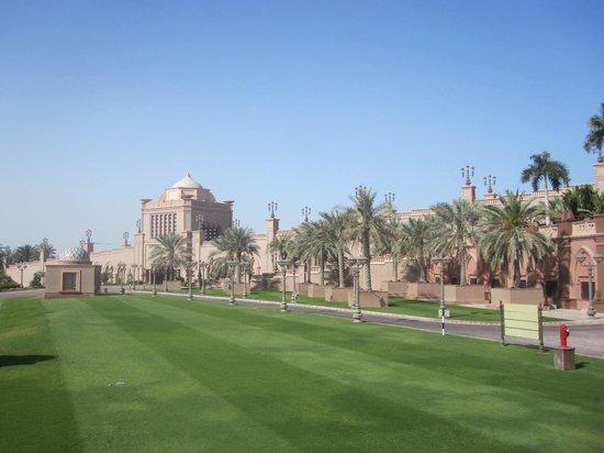 Emirates Palace: Extérieur du palace