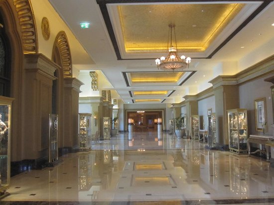 Emirates Palace: Une galerie
