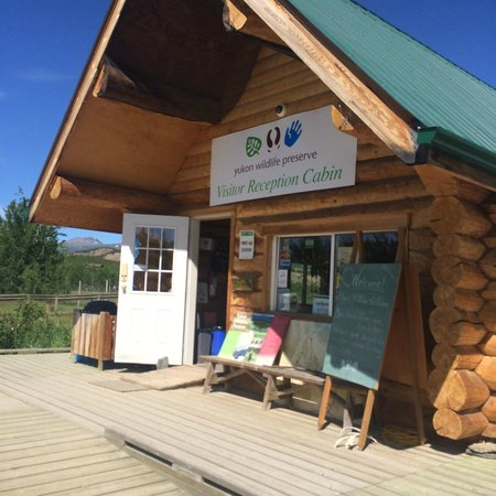 Yukon Wildlife Preserve : office at the enterance