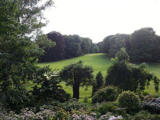 Schlosshotel Kronberg: Parkanlage inkl. Golfcourse
