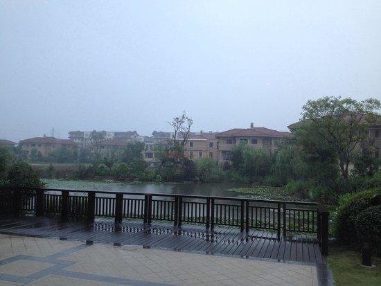 Sheraton Changzhou Wujin Hotel: Lotus pond view from the breakfast area