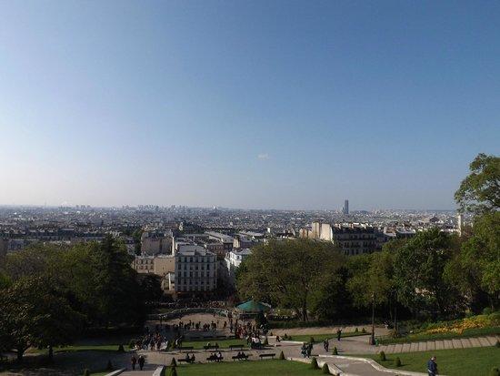 Basilika Sacré-Cœur (Montmartre): panorama
