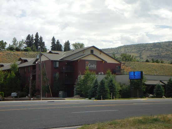 The Cody Hotel : Front of Hotel