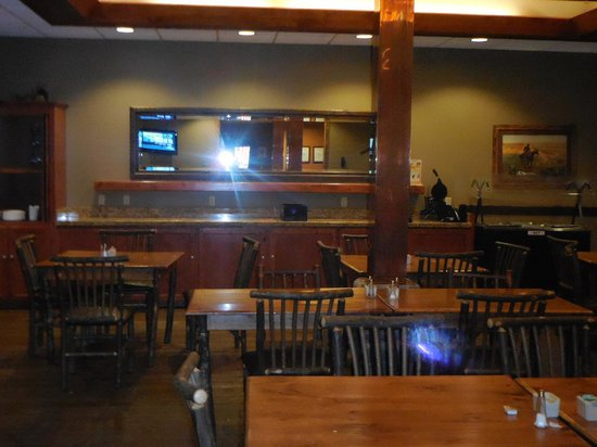 The Cody Hotel: Breakfast Area