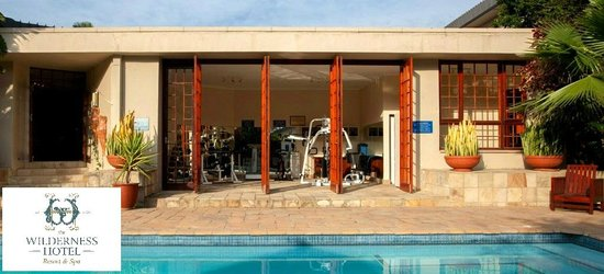 The Wilderness Hotel: Outside Gym area