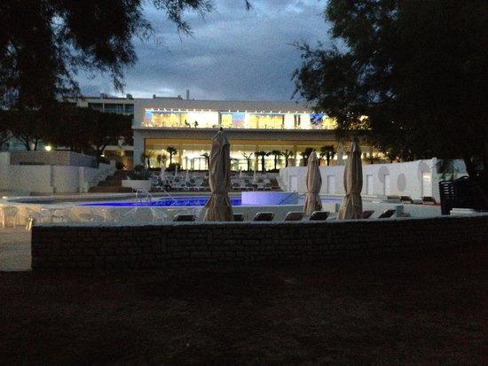 Park Plaza Belvedere Medulin: HOTEL FROM BEACH