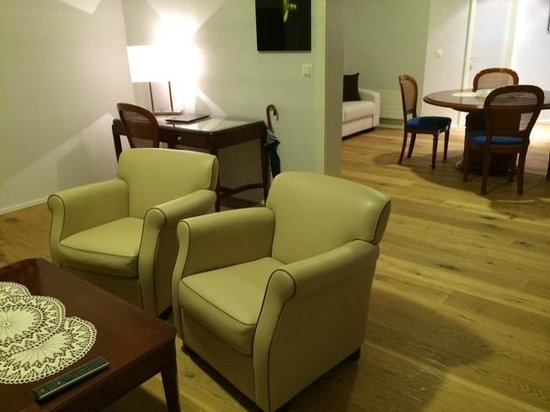 Hotel Beau Rivage: Suite