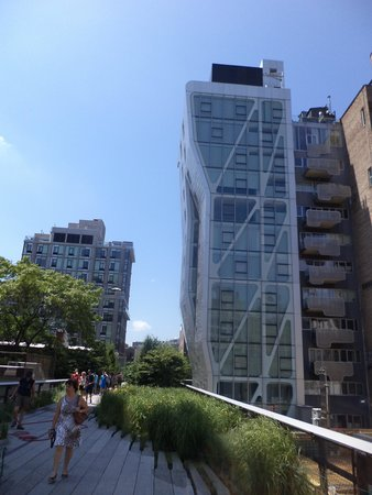 High Line: scorcio tra grattaceli