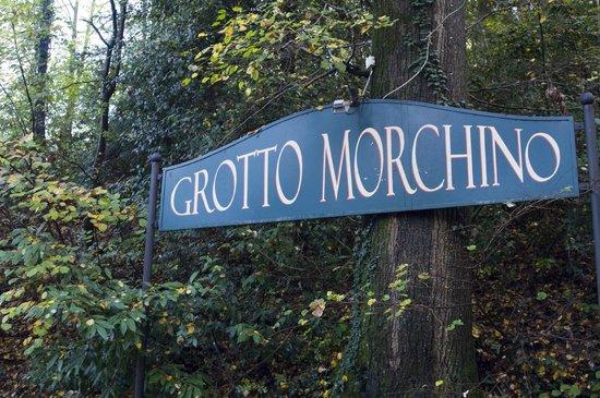 Grotto Morchino: l'insegna
