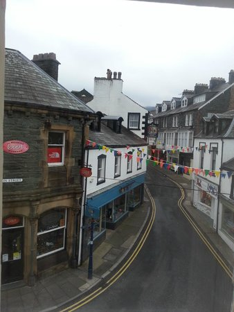 The Royal Oak at Keswick: View from our side window