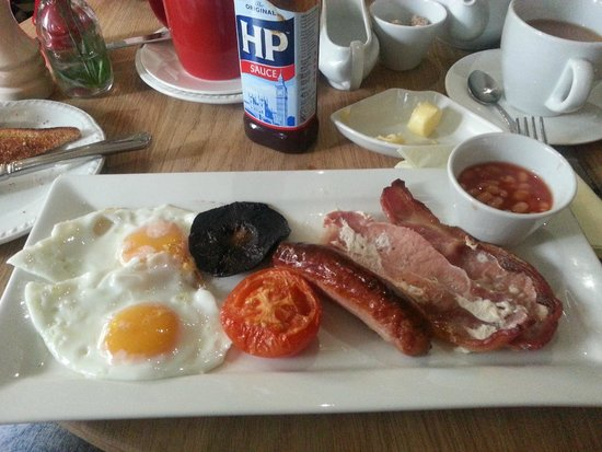 The Royal Oak at Keswick: Full cooked breakfast in the hotel
