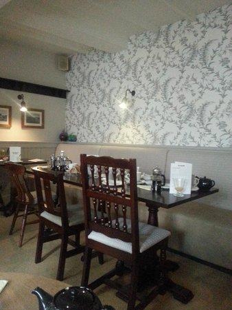 The Royal Oak at Keswick: The dining area