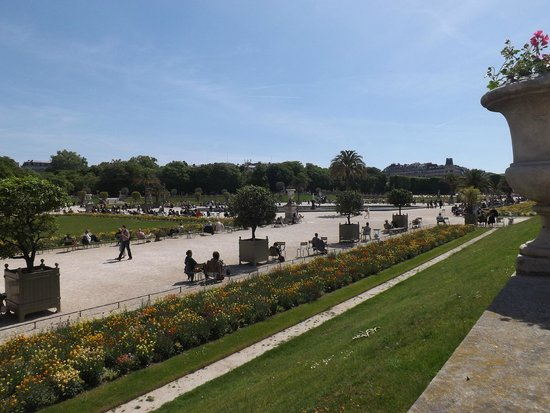 Luxembourg Gardens: vista dal palazzo