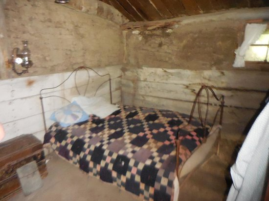 Prairie Homestead Historic Site: Bedroom