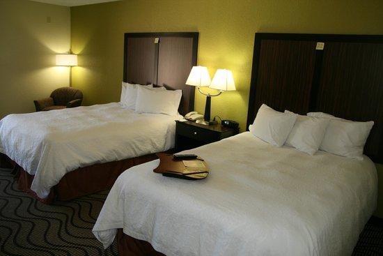 Hampton Inn Kerrville: Double Queen Guest Room