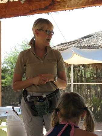 Southwest Wildlife Conservation Center: Robin - our guide