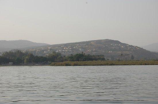 Sea of Galilee : горы Моавитские